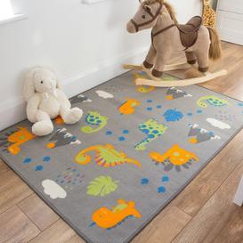 image-Kids Dinosaur Rug-Carousel