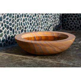 image-Akeem Rainbow Sandstone Birdbath Sol 72 Outdoor Colour: Brown