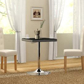 image-Boylon Adjustable Bar Table Metro Lane Colour: Black