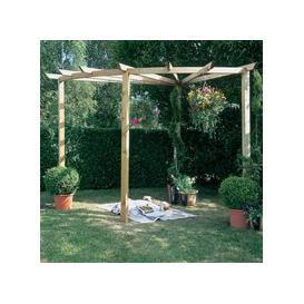 image-Forest Garden Radial Pergola