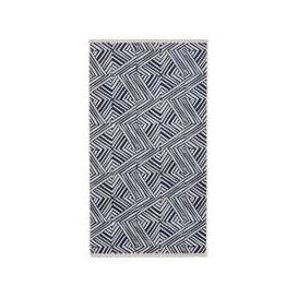 image-Bedeck Of Belfast Konoko Bath Sheet, Indigo