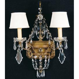 image-Beeler 2-Light Candle Wall Light Astoria Grand