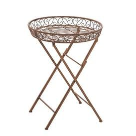 image-Rienne Iron Side Table Sol 72 Outdoor