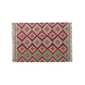 image-ACAPULCO woollen woven rug, multicoloured 140 x 200cm