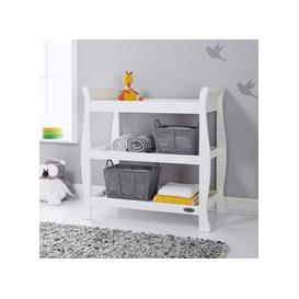 image-Obaby Stamford Open Changing Unit - Taupe Grey