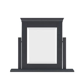 image-Chantilly Dusky Black NEW Dressing Table Mirror