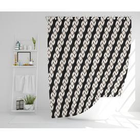 image-Samara Polyester Shower Curtain Set Longshore Tides Size: 177cm H x 210cm W