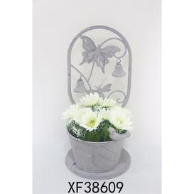 image-Butterfly Design Metal Planter