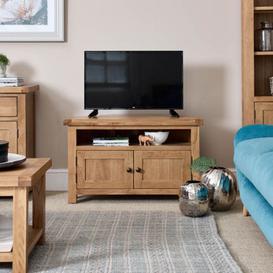 image-Como Oak Corner TV Unit