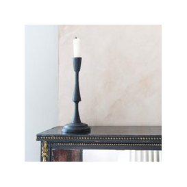 image-Tall Cast Iron Candle Holder