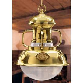image-Martinica 1 Light Outdoor Pendant Moretti Luce Finish: Auburn antique brass