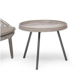 image-Alexavier Wooden Side Table Sol 72 Outdoor Size: 55cm H x 50cm W x 50cm L