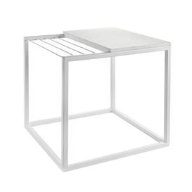 image-Hang It Small End table - Magazine rack - L 47 x H 49 cm by Serax White