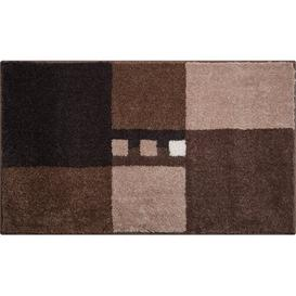 image-Merkur Bath Mat Grund Size: 70 x 120cm, Colour: Brown