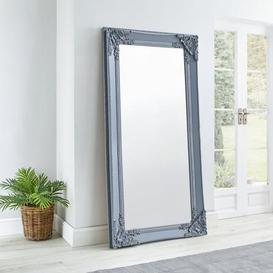image-Roma Leaner Mirror 177x91cm Grey Charcoal