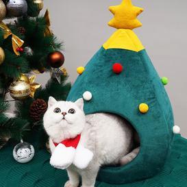 image-Dayna Round/Oval Cat Bed Archie & Oscar