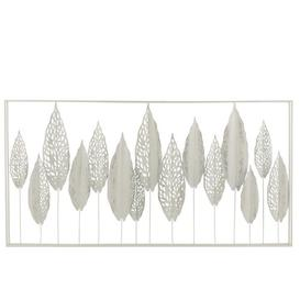 image-Leaves Metal Wall Décor