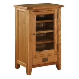 image-Vancouver Premium Oak Range HI-FI Cabinet