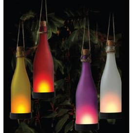 image-Summerset 1-Light LED Decorative Light Sol 72 Outdoor Shade colour: White
