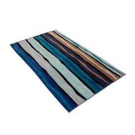 image-Liana Stripe Beach Towel Vossen Colour: Reflex blue