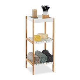 image-30 x 72cm Free Standing Bathroom Shelf Symple Stuff