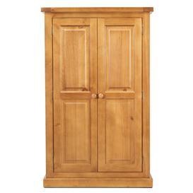 image-Churchill Pine 2 Door Kids Wardrobe