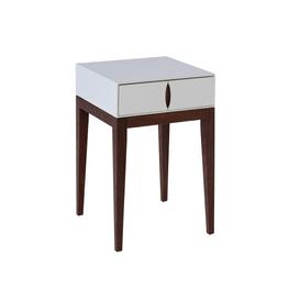 image-Lux 1 drawer lamp table