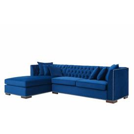 image-Melanie Corner Sofa Willa Arlo Interiors Orientation: Left Hand Facing