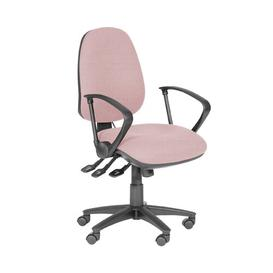 image-Rutland Desk Chair Brayden Studio Upholstery Colour: Pink