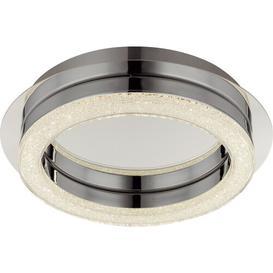 image-Vincenza 1-Light LED Flush Mount Metro Lane