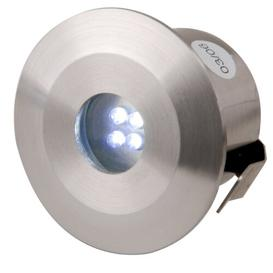 image-Cranleigh 4 Light LED Deck, Step and Rail Lights Sol 72 Outdoor Bulb Type: Blue