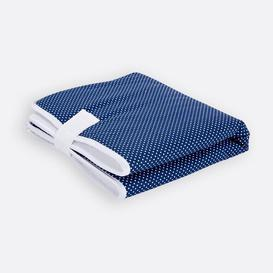image-White Dots Travel Changing Mat KraftKids Colour: Dark blue