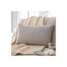 image-Diamante Trim Boudoir Cushion