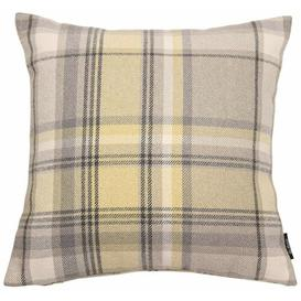 image-Griggs Cushion Cover Union Rustic Colour: Mustard Yellow, Size: 49 x 49cm