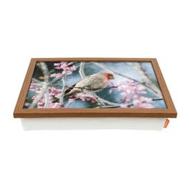 image-A House Finch Bird Painting Laptop Tray