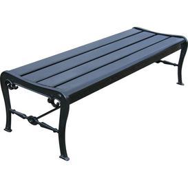 image-Pollux Aluminium Bench Sol 72 Outdoor Size: 200cm W