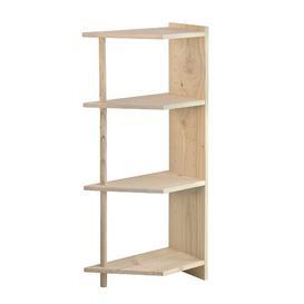 image-Balla Corner Bookcase Natur Pur