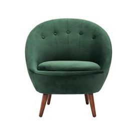 image-Joni Occasional Chair Bottle Green