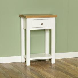 image-Russo Pedestal Telephone Table August Grove Colour: White