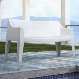 image-2 Seater Sofa Sol 72 Outdoor Colour: Linen