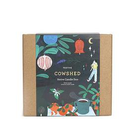image-Cowshed Christmas Candle Duo