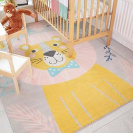 image-Fun Lion Jungle Soft Kids Bedroom Rugs  - Nino
