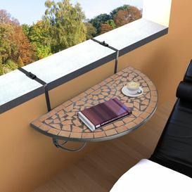 image-Folding Iron Balcony Table Sol 72 Outdoor