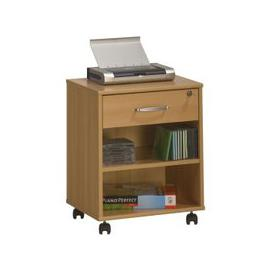 image-Marconie Wooden Office Cabinet In Beech Finish