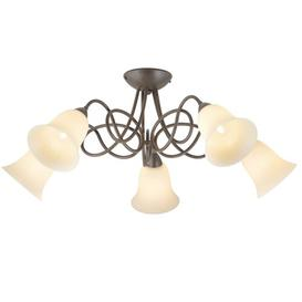 image-Woodmere 5-Light Shaded Chandelier Ophelia & Co.