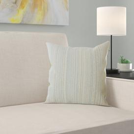 image-Endsley Cushion Cover Brayden Studio Colour: Smoke, Size: 40 x 40cm