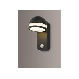 image-Där Tien LED PIR Sensor Outdoor Wall Light, Anthracite
