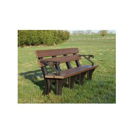image-Eco Park Bench Arms 1.8m