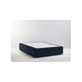 image-Buxton 4'6'' Double Size Bed Base in Deep Blue Yonder