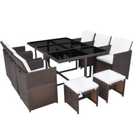 image-Cutinha 10 Seater Dining Set with Cushions